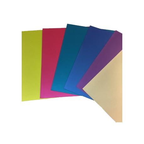 Cartulina Silky. Colores surtidos