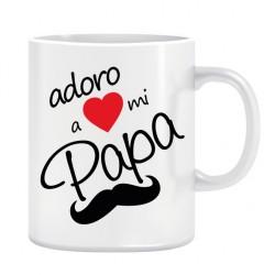 Taza. ADORO PAPA