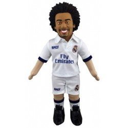 Muñeco 45cm Real Madrid Oficial. Marcelo