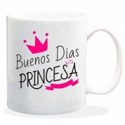 Taza. Buenos días princesa