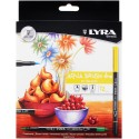 LYRA. ROTULADOR AQUA BRUSH. DOBLE PUNTA. PACK 12 UNIDADES