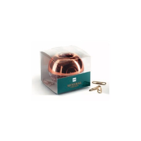 BOLA DISPENSADORA DE CLIPS. MINERAL COPPER