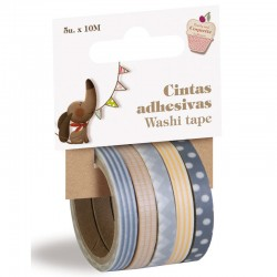 SET 5 WASHI TAPE