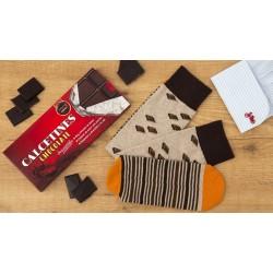 CALCETINES CHOCOLATE EN TABLETA
