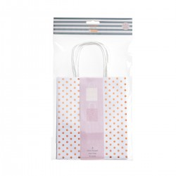 PACK BOLSAS REGALO ROSE GREY