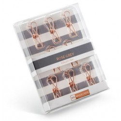 CLIPS COBRE ROSE GREY