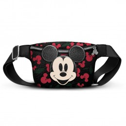 MICKEY. RIÑONERA CREAM CHERRY